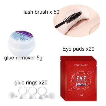 New Professional Portable Eyelashes Extension Kit False EyeLash Lashes Makeup Set eyelash extension kit make up tools container 2