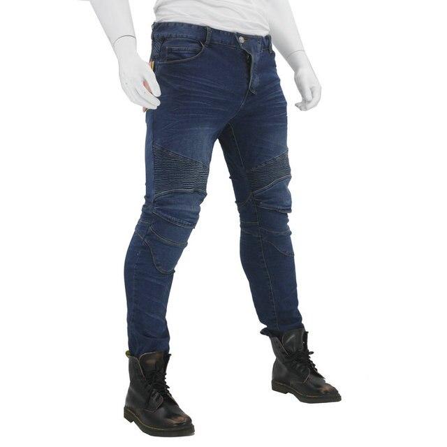 Nouveau KOMINE pantalons de Moto hommes Moto Jeans équipement de protection équitation Touring pantalons de Moto Motocross pantalons Pantalon Moto 2