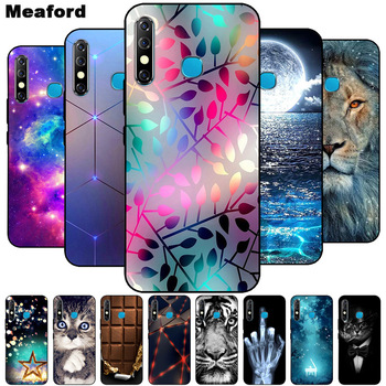 For DOOGEE Y7 Case Phone Cover Soft Silicone Printing Black Coque for Doogee N10 X70 X90 Y8C Y8 X90L Case Shockproof Cover image