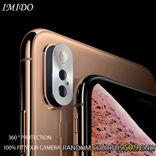 IMIDO Full Cover Rear Camera Lens Protective for iPhone X XS Max XR Back Ring
