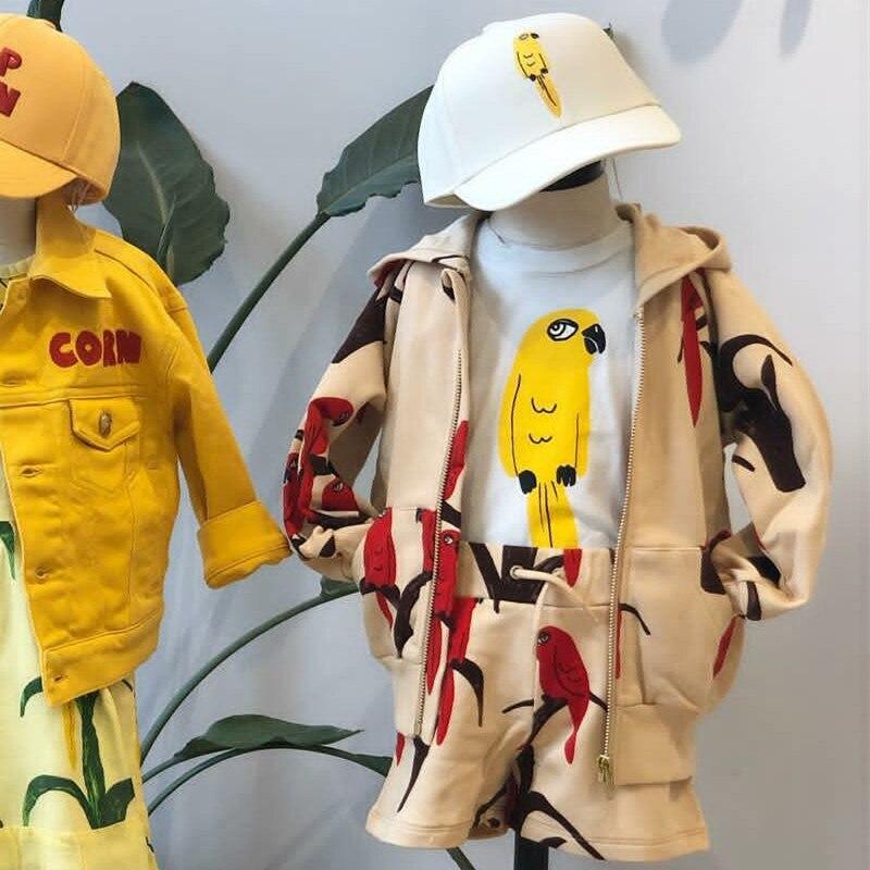 2021 Kids Clothes Boys Jackets Children Hooded Zipper Windbreaker Baby Fashion Print Coat Infant Waterproof Hoodies For Girls 5