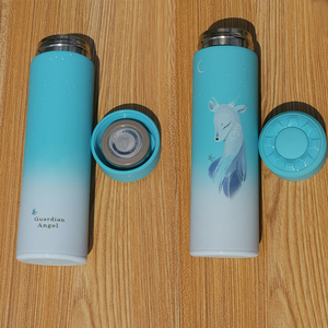 Image 5 - 350 500ML Insulated thermos Vacuum bottle Stainless steel Keep Thermo mug Thermos cup Thermocup Thermal bottle with tea Strainer