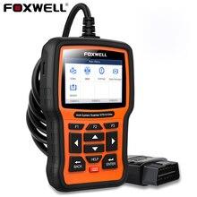 2021 obd2 scanner foxwell nt510 elite srs abs epb dpf óleo redefinir sistema completo odb2 scanner automotivo ferramenta de diagnóstico do carro