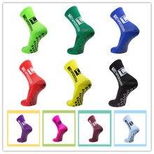 Новый 2021 Профессиональный Нескользящие Для мужчин Футбол носки для верховой езды велосипедные спортивные носки из дышащего нейлона бег чу...