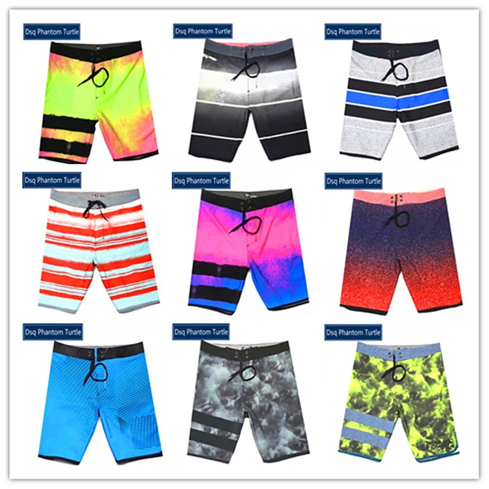 2020 Brand Fashion Dsq Phantom Turtle Beach Board Shorts Men Elastic Polyester Spandex Swimtrunk Sexy Couples Swimsuit Quick Dry