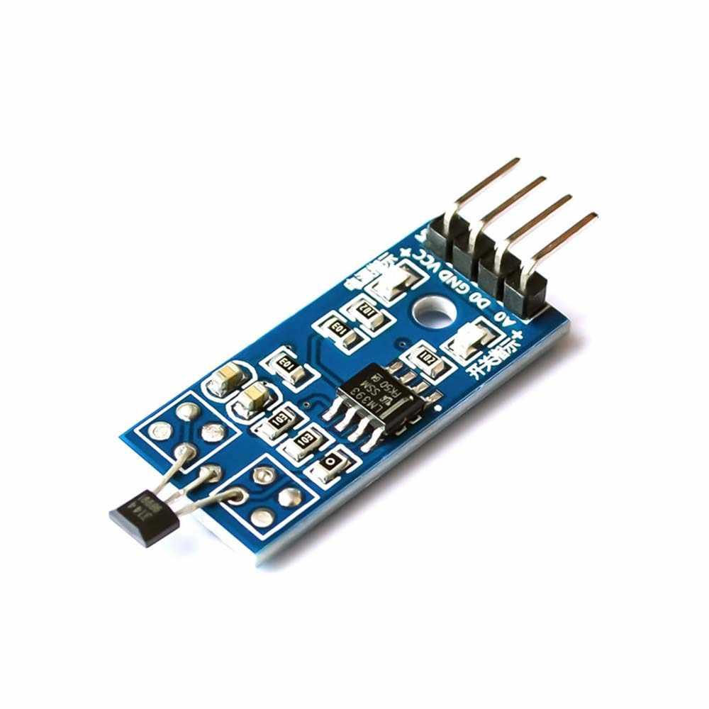 Taidacent LM393 3144 Módulo de Sensor Hall Sensor de efecto Hall para medición de velocidad Sensor de posición de efecto contador Hall