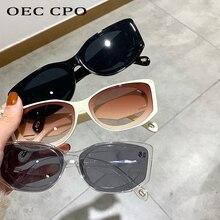 Square Sunglasses Shades Steampunk Rectangle Oec Cpo Vintage Eyewear Women Men Fashion