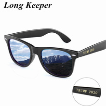 Women Men Polarized Sunglasses Fashion Square Driving Sun Glasses Mirror Design LOGO TRUMP 2020 Shades Eyewear Oculos de sol