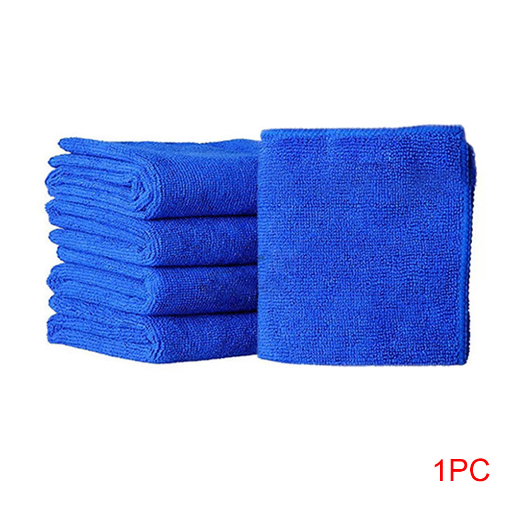 1/5pcs Bath Towels Washing Cloth Soft Cloths Car Polishing Auto Cleaning Hotel Microfiber Towel Quick Dry High Absorbent 25x25cm