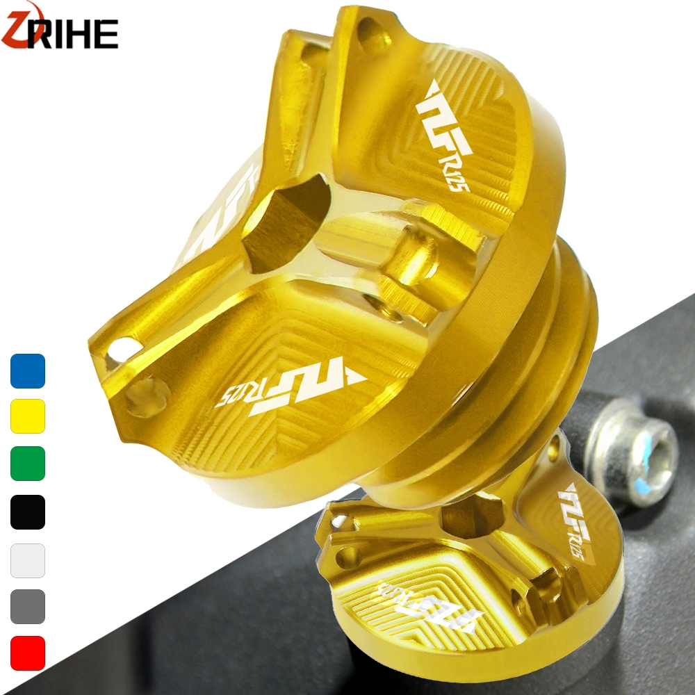 For <font><b>Yamaha</b></font> YZF-<font><b>R1</b></font> YZF-R1M YZF-R125 2008-2015 Motorcycle Engine Oil Cup Filler Plug Cover yzf-<font><b>r1</b></font> le 2002-2012 2011 2010 <font><b>2009</b></font> 2008 image