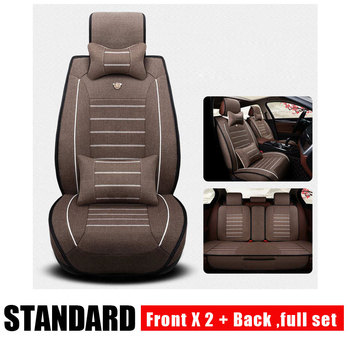 Universal Breathable Car Seat Covers for Opel Astra H J G Mokka Insignia Cascada Corsa Adam Ampera Andhra Zafira Car Accessories