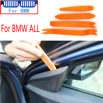 4pcs Car Audio Door Removal Tool For BMW Series 1 2 3 4 5 6 7 8 E60 E90 E91 E92 E93 E61 E46 E36 E87 E88 E81 E82 E63 E64 E65 X5 image