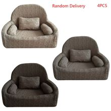 4 Teile/satz Neugeborenen Fotografie Requisiten Baby Posiert Sofa Kissen Set Stuhl Dekoration