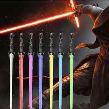 1PC Star Wars Lightsaber Pedang Replika Mainan Starwars Laser Light Saber Senjata Pedang Cosplay Mainan Luke Darth Vader Yoda saber Mainan(China)