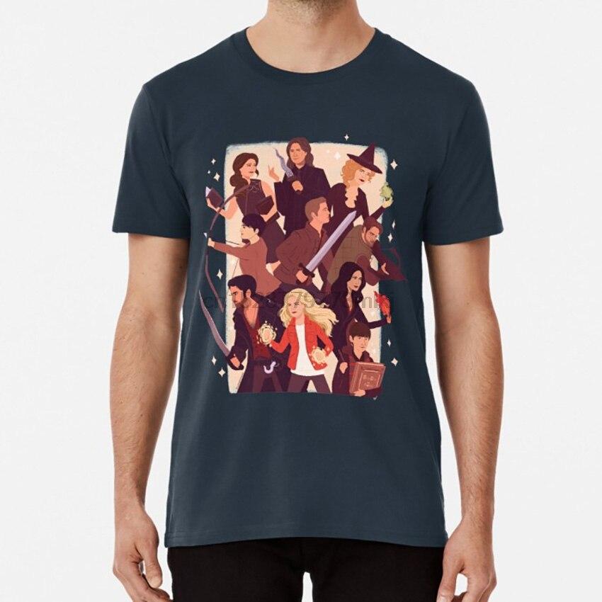 Il était une fois t-shirt il était une fois emma swan killian jones regina mills zelena rumplestiltskin belle française