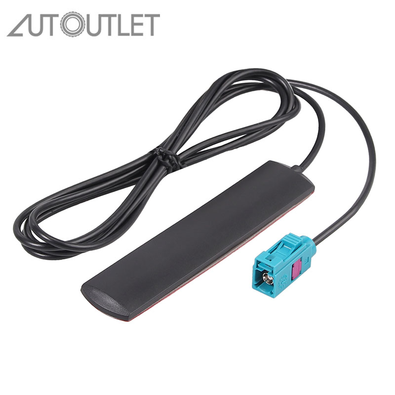 AUTOUTLET For Bluetooth WiFi Antenna FAKRA Vehicle Antennas Glass Adhesive Antenna Disc Fakra Plug TYP Z For V W BMW