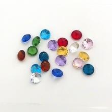 10 мм шт Диметр хрустальные радужные стеклянные бусины с кристаллами
