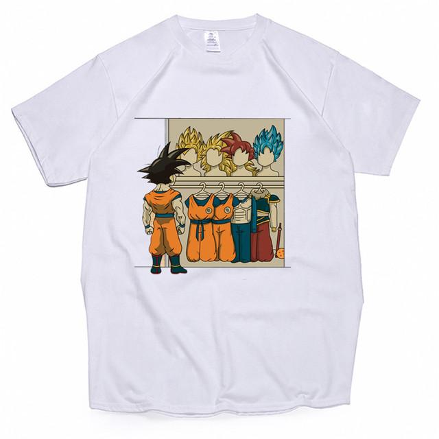 Dragon Ball Z Goku T Shirt Clothes Streewear
