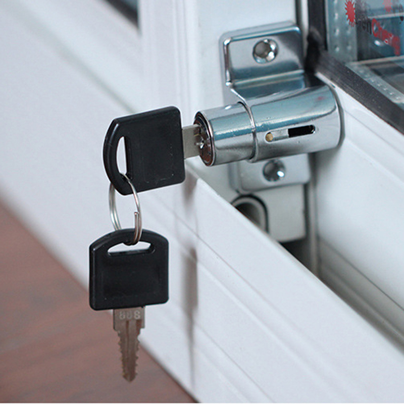 Zinc Door Window Security Lock Sliding Window Anti-Theft Lock Child Safety Protection Window Restrictor Locks
