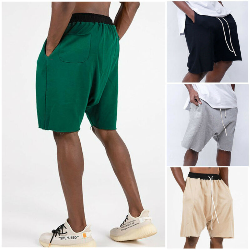 Men Gym Training Shorts Workout Sports Casual Shorts Male Loose Comfort Fitness Running Shorts 4 Colors Plus Size