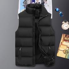 Newest Men's Winter Casual Sleeveless Windproof Down Jacket Vest