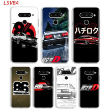 Silicone Cover INITIAL D AE86 for LG W30 W10 V50S V50 V40 V30 K50S K40S K30 K20 Q60 Q8 Q7 Q6 G8 G7 G6 ThinQ Phone Case(China)