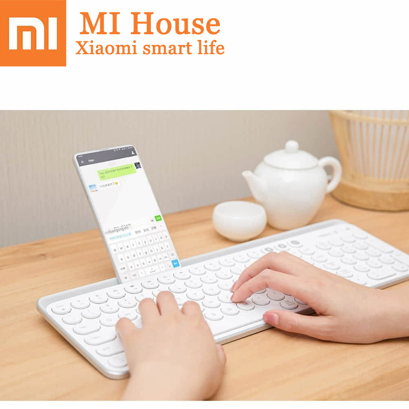 Xiaomi MIIIW Bluetooth 104 Keyboard 2.4G Dual Mode Supports Windows/Mac/Android/iOS Mobile Tablet Wireless Fingerboard Smart