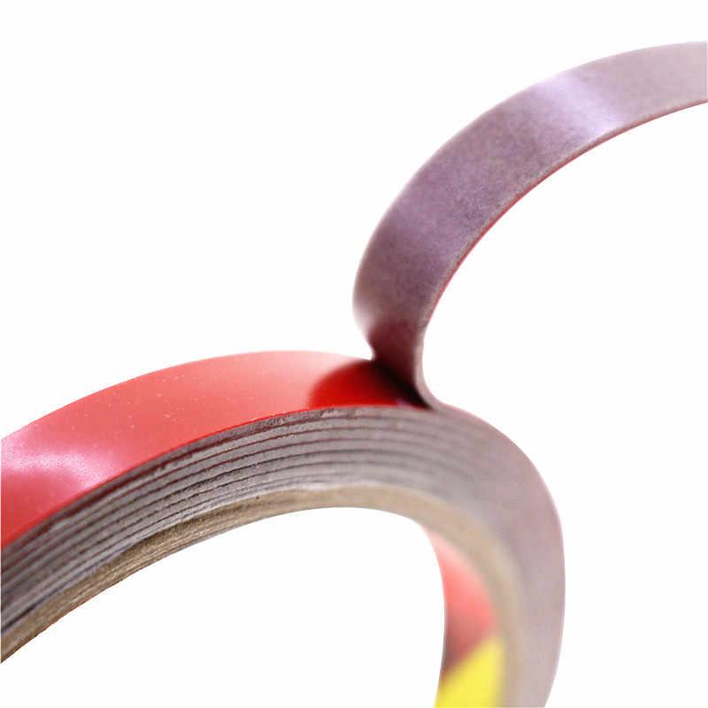 1 pcs 3m * 6 millimetri Nastro Biadesivo Lunghezza 3m Rosso Double-Sided Nastro Può Essere Utilizzato per il Settore Automobilistico Decorativo Fai Da Te Pasta nastro di modifica Dell'automobile