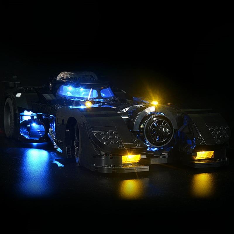 Led Light Kit For 76139 1989   Batmobile Car  (only Light Kit Included)