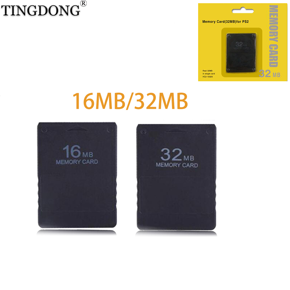 Brand New & High Quality Black 8MB16MB 32MB 32 MB Memory Card For SONY PS2 Playstation 2 Top Quality