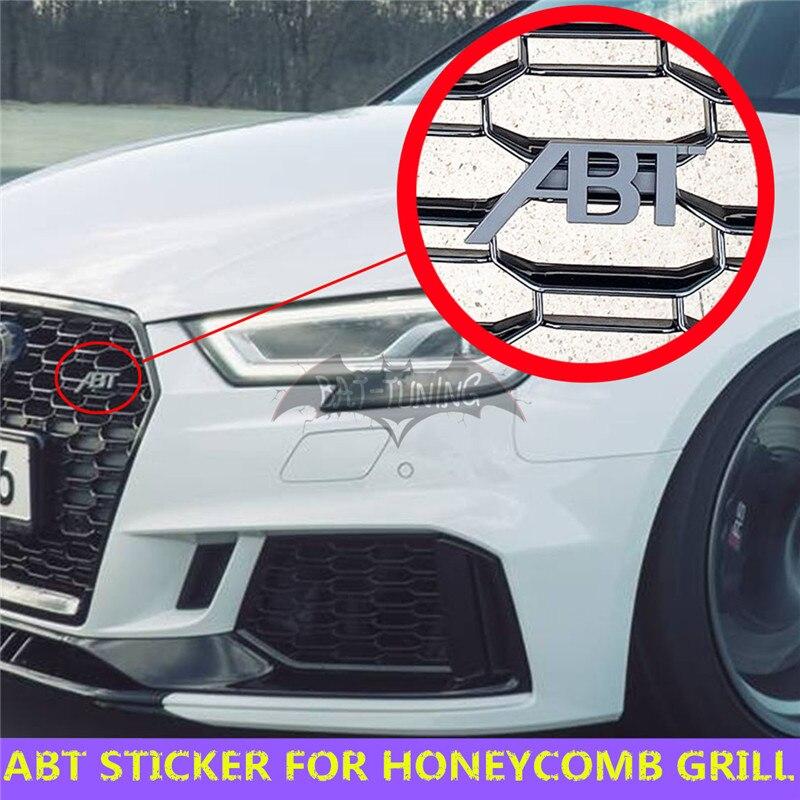 Audi Sport License Plate Frame White Trim 2 colors Pair