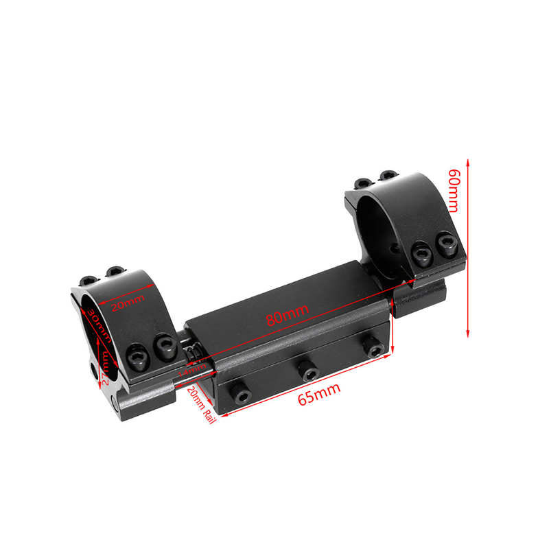 Zero Recoil Scope Mount 25.4mm 30mm Rings Diameter Fit 11mm/20mm For Dovetail Picatinny Weaver Rail Airgun Airsoft Hunting