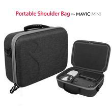Водонепроницаемая сумка на плечо, Защитная сумка для хранения, чехол для переноски для DJI Mavic Mini Drone, пульт дистанционного управления