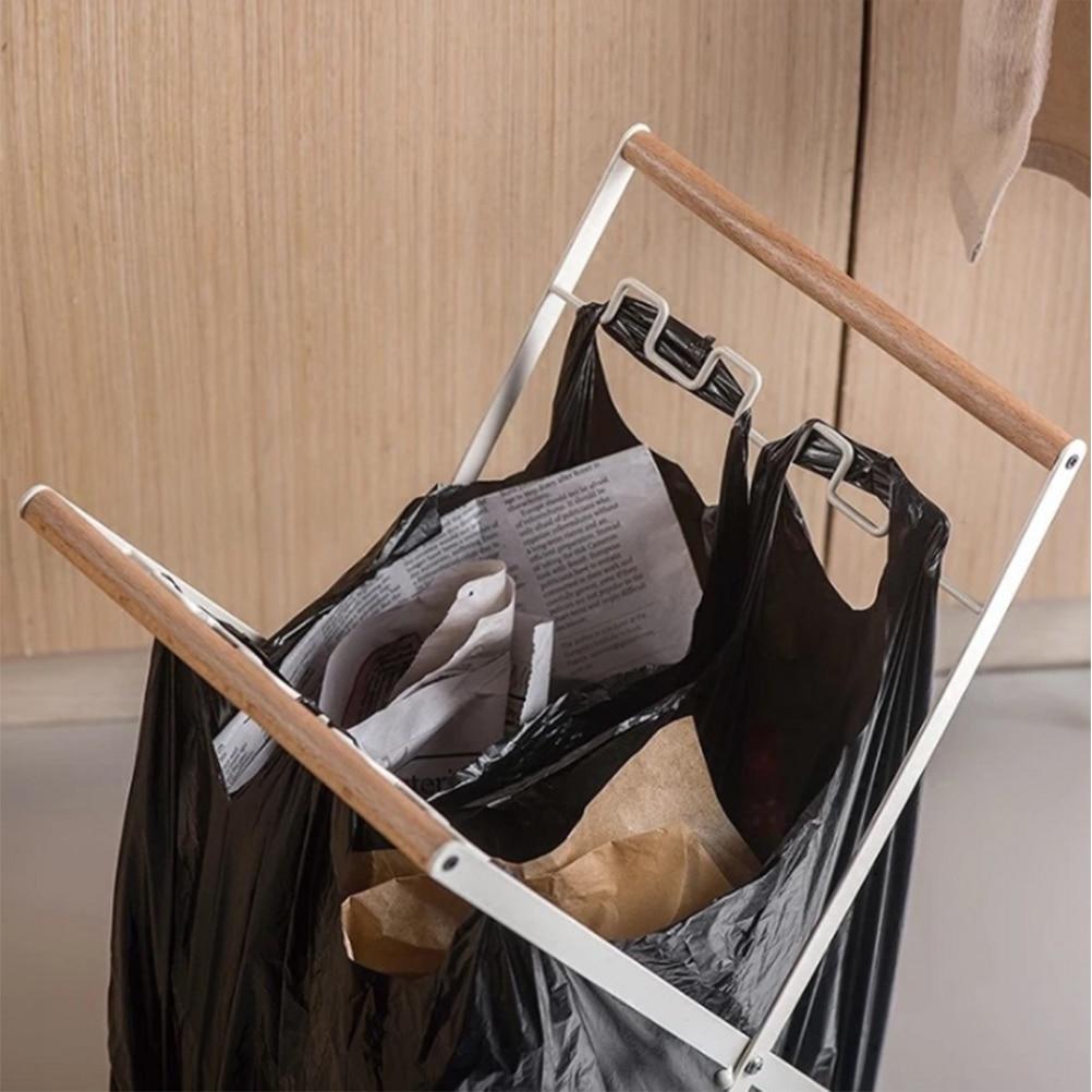 Креативная Складная вертикальная стойка для хранения, подставка для хранения, кухонный Домашний Органайзер, деревянная стойка для багажа в гостинице для дома