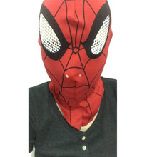 1pc Spider-Man Face mask Spider Man hood For Halloween Party Spiderman Full Head Mask