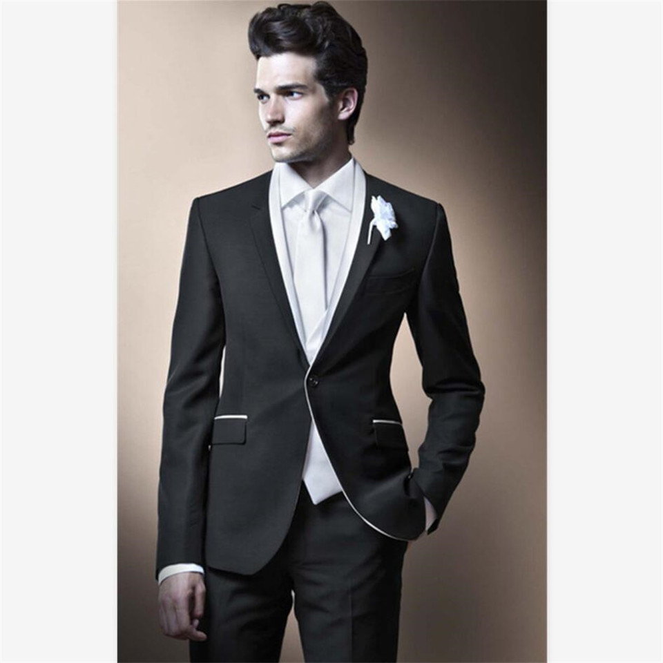 New Classic Men's Suit Smolking Noivo Terno Slim Fit Easculino Evening Suits For Men Purple Groom Unique Latest Design High Qual