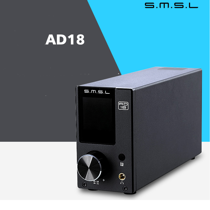 YWJJX SLSM Wood Three Forest AD18 Full Digital Decoder Power Amplifier 80W Fiber USB Coaxial Bluetooth Remote Control Amplifier