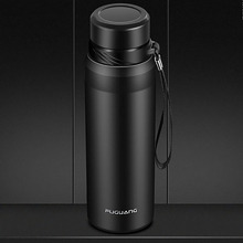 1000ml Stainless Steel Tumbler Thermos Bottle Mug  Large Capacity Cup Vacuum Flask Water 50Q071