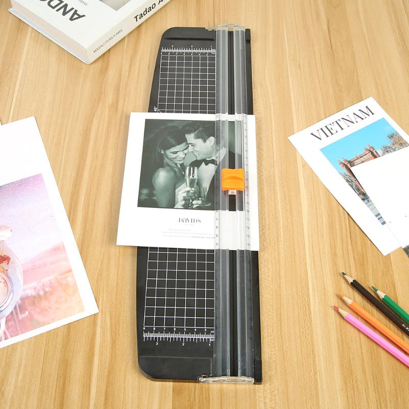 Fashion A3 Paper Cutter Hot Selling Photo Trimmers Plastic Base Card Cutting Blades Multi-function Office Home Tools Black