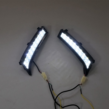 LED DRL Daytime Running Light Fog Lamp 12V Car Running Lights for Subaru Forester 2013 2014 2015 2016