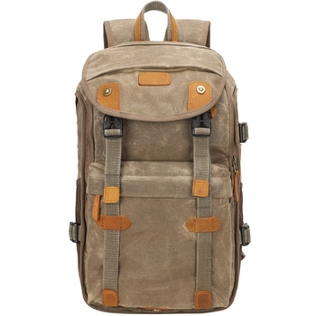 Multifunctional Batik Canvas Camera Backpack Dslr Camera Bag Outdoor Waterproof Dustproof Photography Bag for Digital Slr