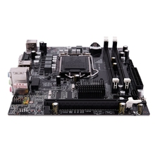 H55 LGA 1156 zócalo de la placa base Mini escritorio ATX Ie USB2.0 SATA2.0 doble canal 16G DDR3 1600 para