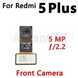 Image 5 - Original pour Xiaomi Redmi Note 5 5A Pro Plus petit avant et principal grand arrière caméra câble flexible