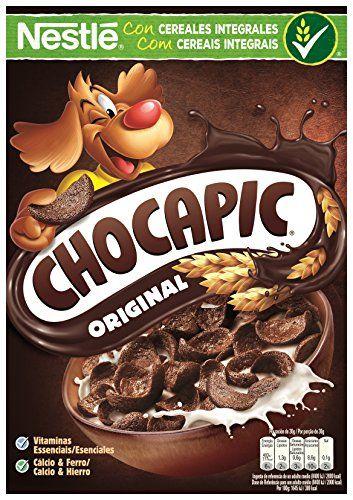 Cereales Nestlé Chocapic Auténtico Sabor A Chocolate 375gr