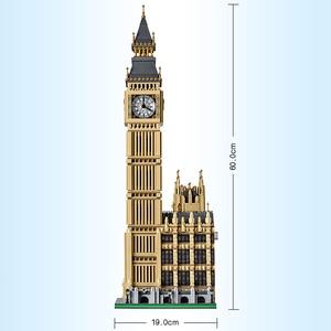 Image 4 - LELE 30003 Creator Big Ban Streetview seria kompatybilny 10253 Big Ben Model architektura klocki klocki Educa