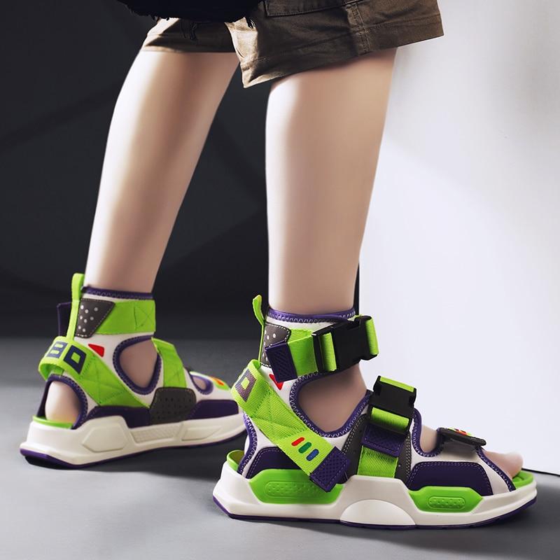 Summer Sandals Men Beach Sandal Casual Shoes Zapatillas Dropshipping Tenis Masculino New Mens Sneakers Flat Sandalias De Hombre