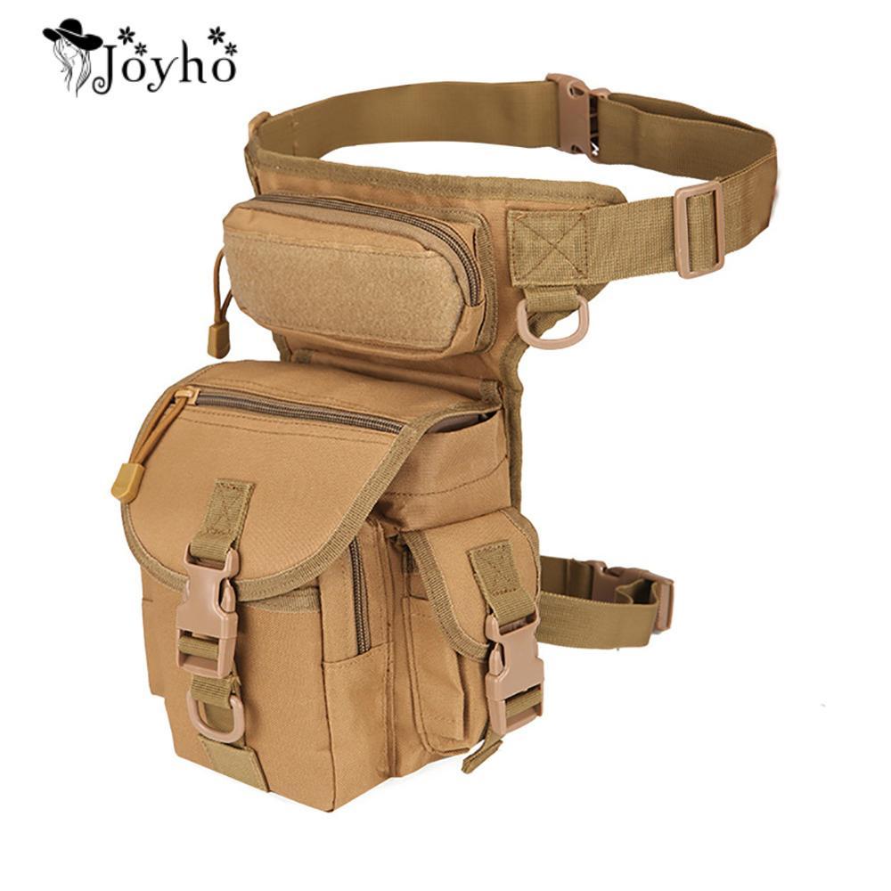 Tactical Waist Bag Drop Unisex Leg Bags Tool Fanny Camping Hiking Trekking Military Shoulder Saddle Nylon Multi-function Pack