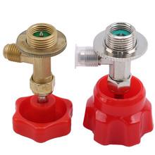 Niskie ciśnienie zawór otwieracz do butelek Auto Car AC Can Tap Adapter instalacja gaz czynnik chłodniczy narzędzie klimatyzacja akcesoria tanie tanio CN (pochodzenie) Metal+Plastic 0 098kg 0inch Valve Bottle Opener 2020