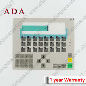 Image 4 - Пластиковый чехол s для 6AV3617 1JC20 0AX1 6AV3 617 1JC20 0AX1 OP17 передний чехол и задняя крышка корпус оболочка + мембранная клавиатура