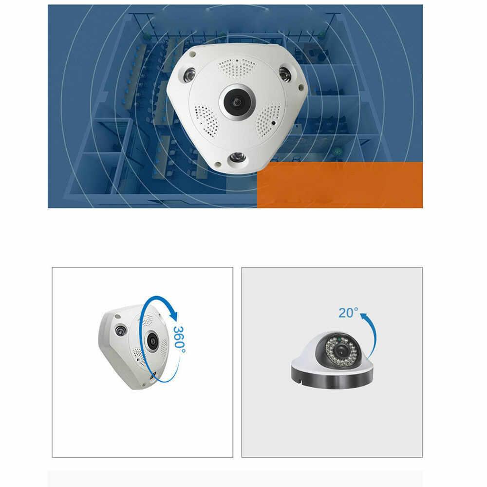CCTV безопасности IP 1.3MP/3MP/5MP аудио камера NighVision wifi IP VR 3D рыбий глаз камера 360 градусов широкий диапазон панорамный